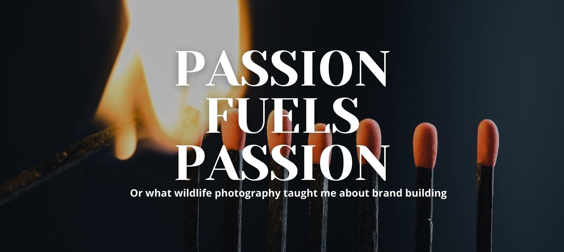 Passion Fuels Passion